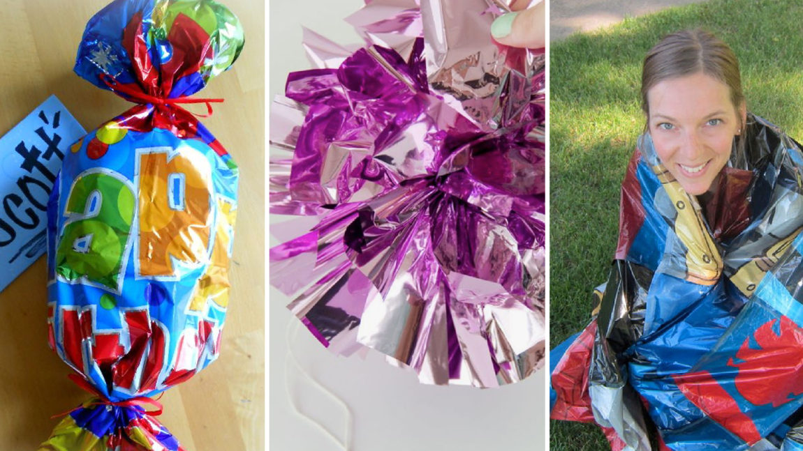11 Ways to Reuse Foil Balloons