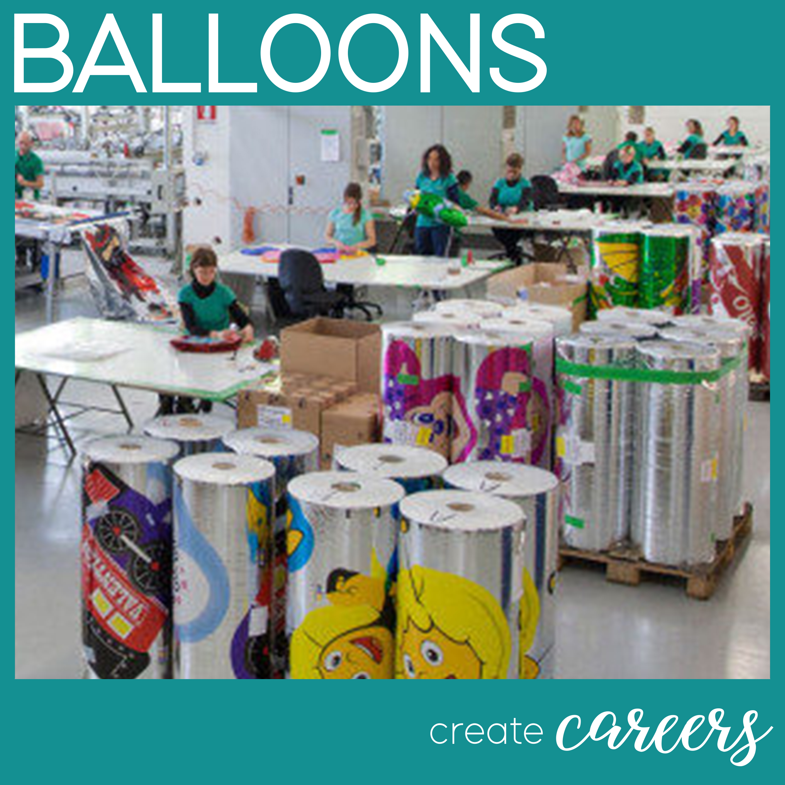 Balloon Facts - Balloons create careers