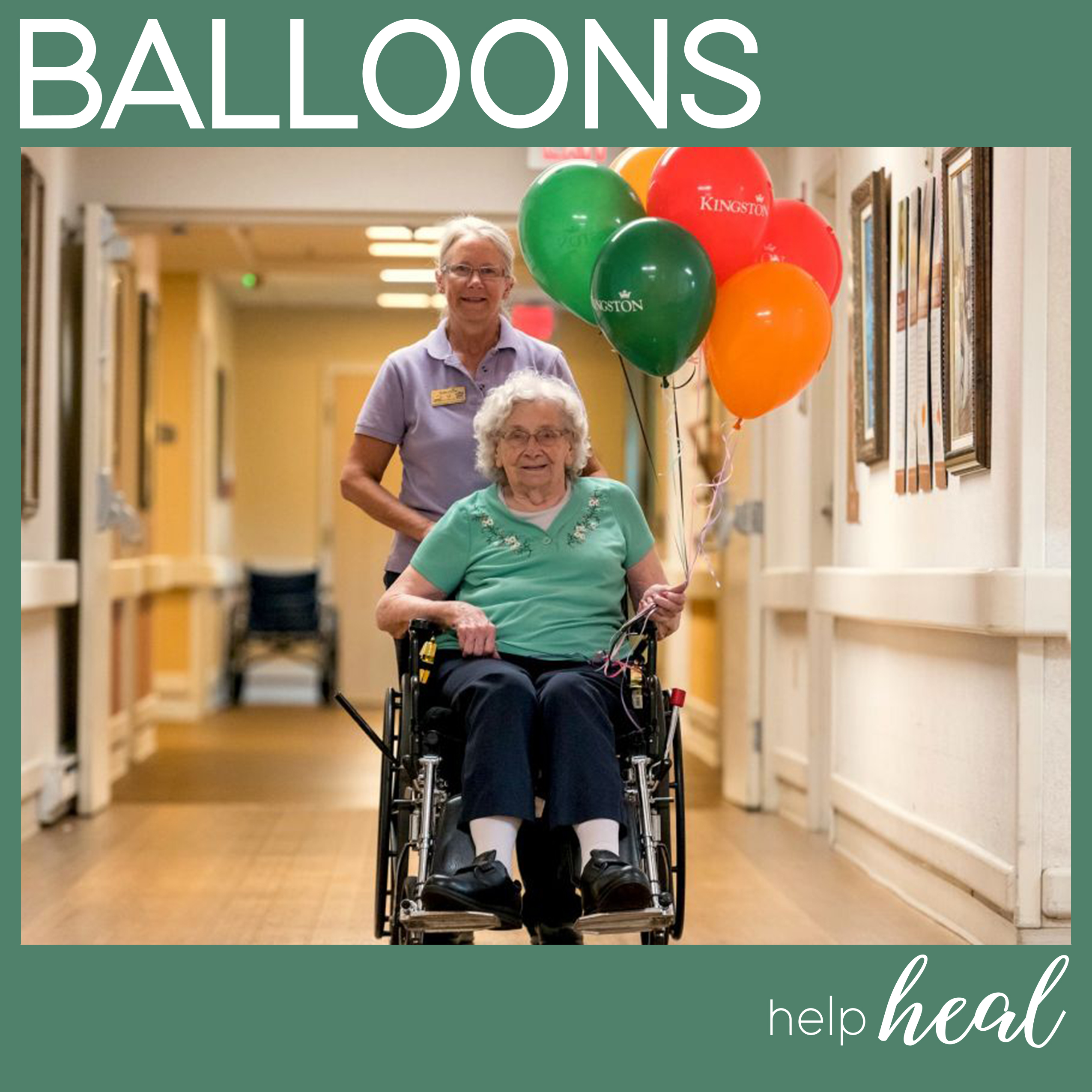 Balloon Facts - Balloons help heal